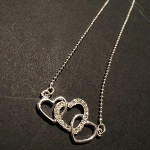 Interlocking Hearts Necklace
